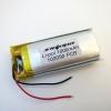 Аккумулятор Li-pol 102050 3.7V 1000mAh PCB 15W