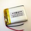 Аккумулятор Li-pol 503040 3.7V 550mAh PCB 24W