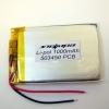 Аккумулятор Li-pol 503450 3.7V 1000mAh PCB 24W