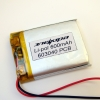 Аккумулятор Li-pol 603040 3.7V 600mAh PCB 24W