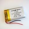 Аккумулятор Li-pol 802540 3.7V 800mAh PCB 15W