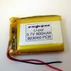 Аккумулятор Li-pol 803040 3.7V 900mAh PCB 24W