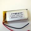 Аккумулятор Li-pol 902040 3.7V 700mAh PCB 15W